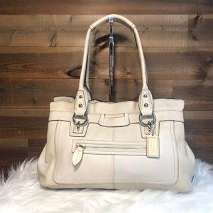 Coach Tan Penelope Leather Satchel Bag